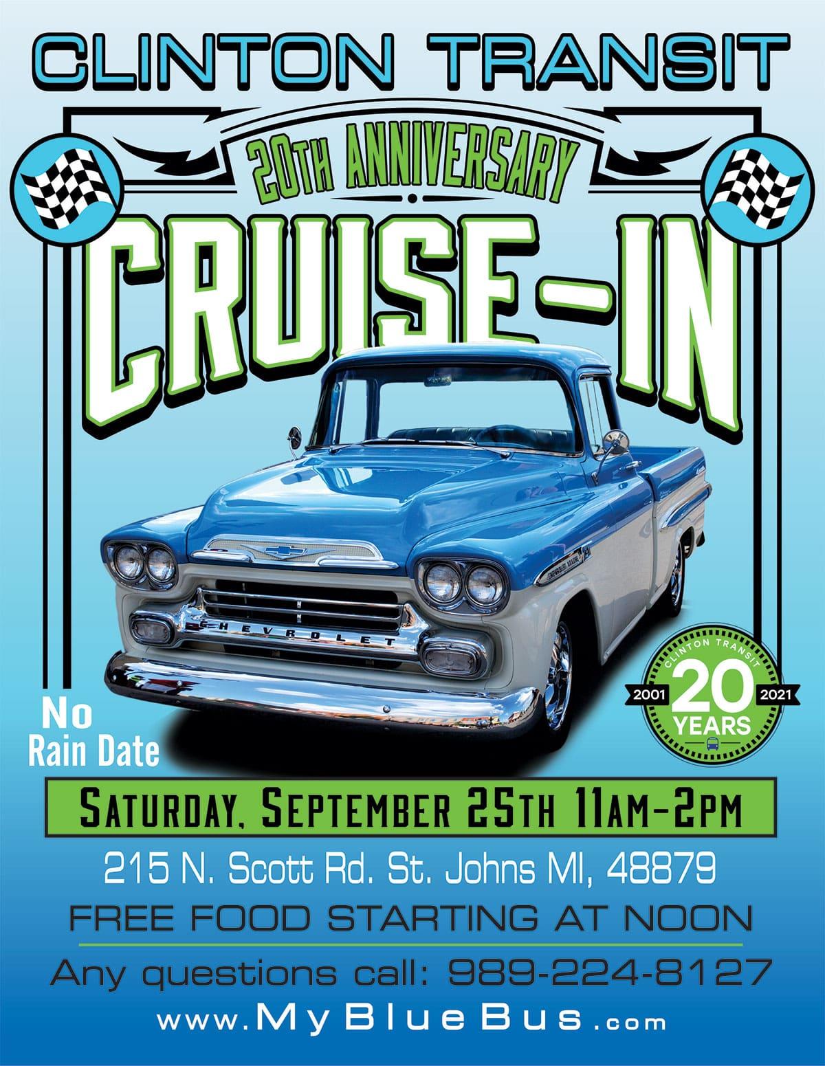 clinton transit cruise-in