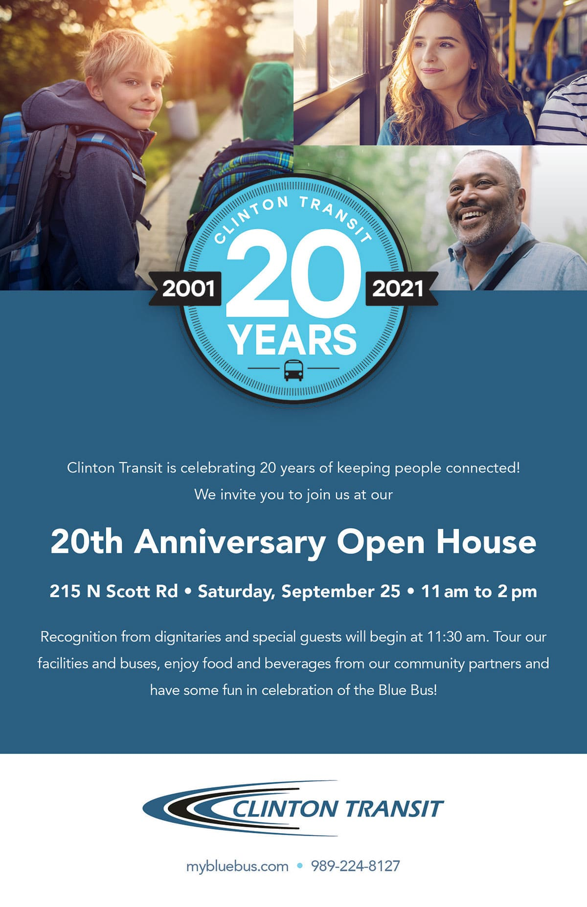 clinton transit 20th Anniversary